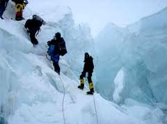Many climbers have attempted to scale the mountain.