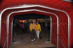 Entering the circus made us feel the excitement  awaiting us.