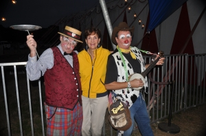 What's a circus without clowns?