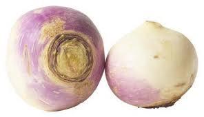 Mushy, raw turnips, I'm not sure of this treat.
