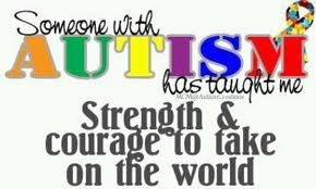 Pray for strength and courage for those who are dealing with autism.