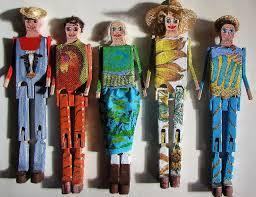 Some people really do dress-up  limberjacks.
