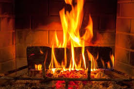 Burning of the yule log is an old custom still observed today.