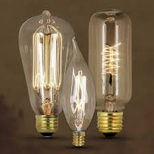 Vintage bulbs are collectibles.