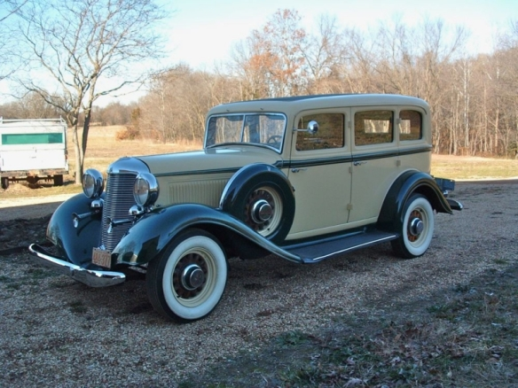 This is what the Packard looked like.