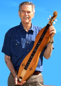 My husband with his dulcimer.