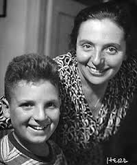 Alice and her son, Stephan. He was six when he and his mother were sent to a concentration camp.
