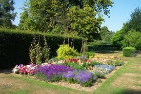 The rewards of flower gardening.