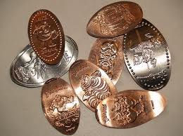 Here's an example of pressed pennies.