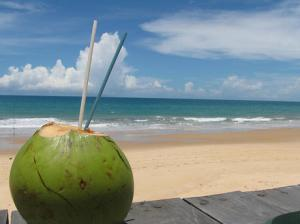 Here's a better way to sip coconut water. Don't you think so?
