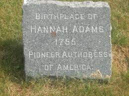 This stone honors her.