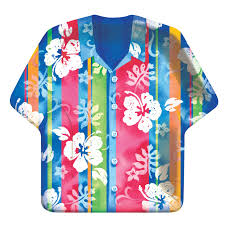 How's that for a hibiscus patterned shirt?