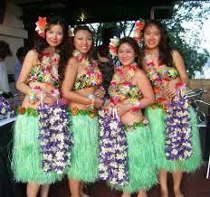 Lovely hula girls.