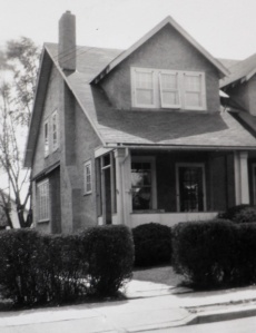 This photo of 1714 Orchard Avenue was taken when our family lived there.