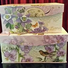 Today's boxes are very decorative.