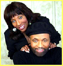 Andrea is pictured with his twin sister Sandra, also an accomplished musician.