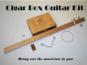cigar Box Guitar 4